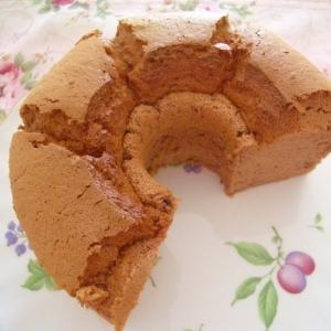 気軽に✿我が家のココアシフォンケーキ