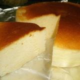 ヨーグルトでヘルシースフレチーズケーキ♪