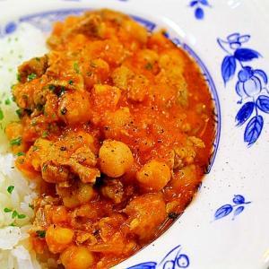 ラムとひよこ豆のトルコ風シチュー