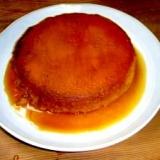 ケーキ型で作ったカボチャの蒸しプリン