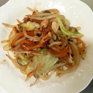 ツナと野菜のオイスターソース炒め