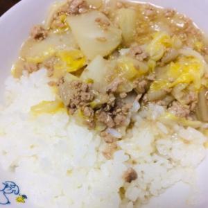 白菜と豚ひき肉の中華煮