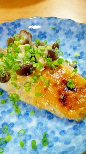タラの味噌マヨ焼き