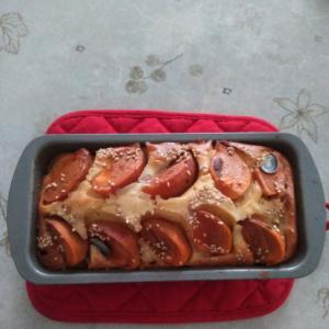 柿と白ごまのパウンドケーキ