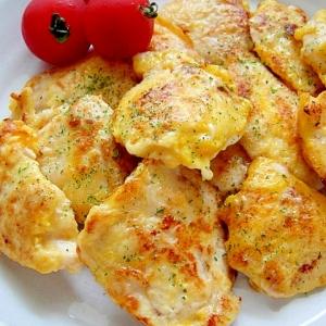 鶏ムネ肉の塩麹ピカタ