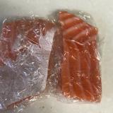 刺身サーモンの冷凍方法
