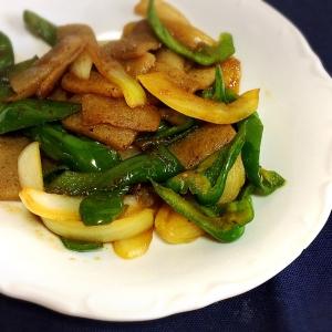 焼肉のたれで簡単!こんにゃくの野菜炒め