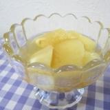 まずい桃が3分で美味しくなる@桃のコンポート