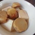 豆腐と里芋の味噌煮