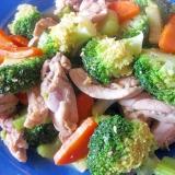 タイ風炒め物♪鶏肉とブロッコリーのナンプラー炒め