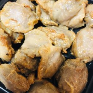 砂肝のニンニク胡椒焼き