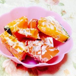 お弁当に❤︎ウインナーと南瓜のマヨバジル和え