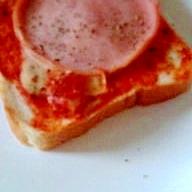 ハムトマトースト