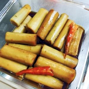 お正月☆簡単おせち料理☆ごぼうのバルサミコ酢マリネ