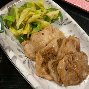 豚肉の生姜焼き:1902