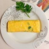 小松菜の卵焼き