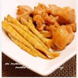 鶏肉と細筍の煮物