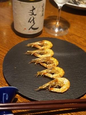 【佐賀食材】芝海老の山椒焼き