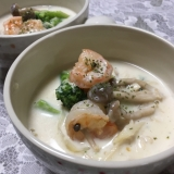 海老とブロッコリーの★クリーム煮★