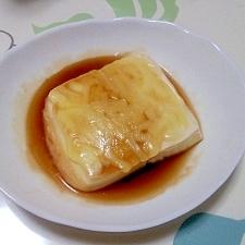 レンジで!チーズ豆腐++