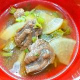 牛すね肉と大根の和風スープ