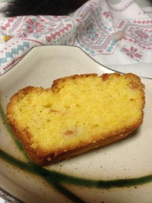 柿のパウンドケーキ:1210