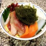 海鮮海ぶどう丼