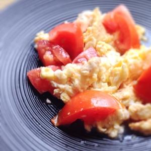 ササッと☆トマトと卵の中華炒め