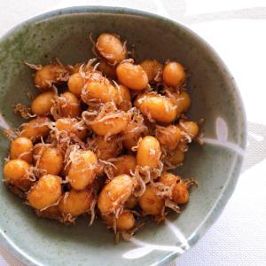 大豆の甘酢炒め