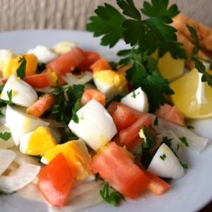 トルコ料理★アンタルヤ風白いんげんのサラダ