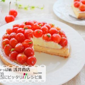 さくらんぼのチーズタルト【No.429】