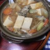 牡蠣味噌鍋カレー風味