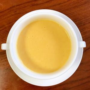 かぼちゃ入りコーンスープ