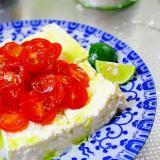 プチトマトの冷奴*豆腐サラダ