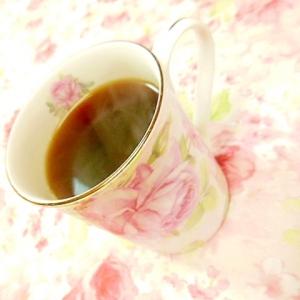 ❤黒酢蜂蜜と牛蒡茶の生姜珈琲❤