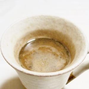 癒やしの香り~♪黒ごまカフェ・オ・レ