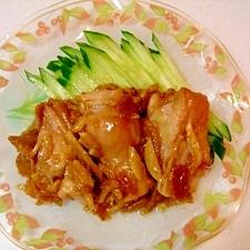 鶏もも肉のさっぱり蒸し煮★生姜風味!
