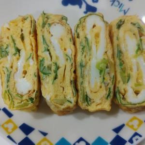京菜の卵焼き