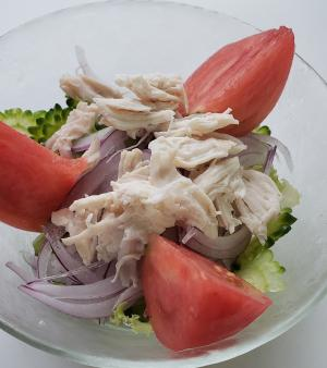 夏野菜ゴーヤのサラダ