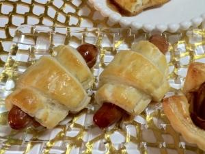 冷凍パイシートで美味しいウインナーパイ