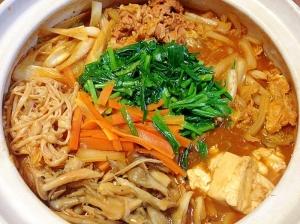 自家製キムチの素de☆本格キムチ鍋