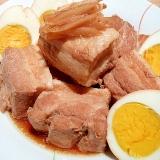 圧力鍋で下茹でトロトロ♪臭みゼロ☆豚の角煮