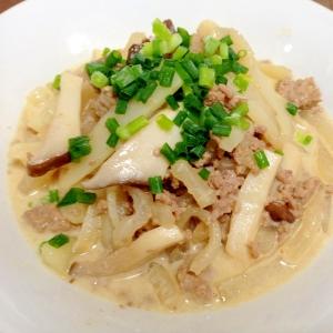 ご飯がすすむ☆挽き肉と大根のオイマヨ炒め