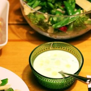 アスパラの冷製スープ