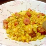 家庭で簡単パラパラカレー炒飯!