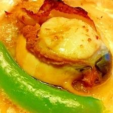 絶品【殻付きホタテ貝】のバター醤油焼き♪