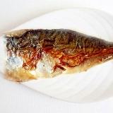 胡麻油で香ばしく 塩鯖のフライパン焼き