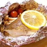 白身魚のホイル焼き