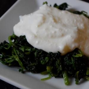 トルコ料理★西洋イラクサのニンニクヨーグルトソース