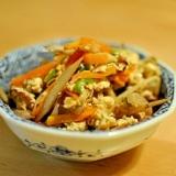野菜たっぷり♪炒り豆腐